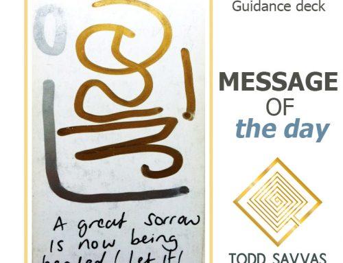 MOTD – A Great Sorrow Is Now Being Held, Let It! 11/08/2015